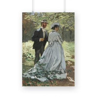 Bazille and Camille (1865) by Claude Monet.