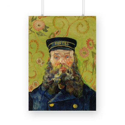 The Postman (Joseph Roulin) (1888) by Vincent Van Gogh. Original from the J. Paul Getty Museum.