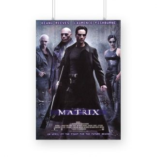 The Matrix 1999 poster
