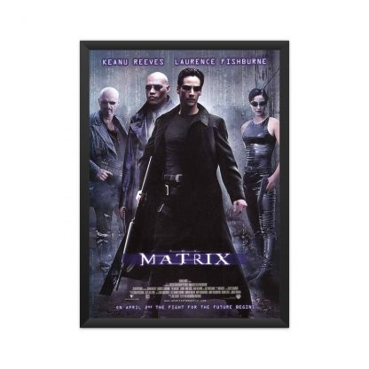 Framed The Matrix 1999 poster