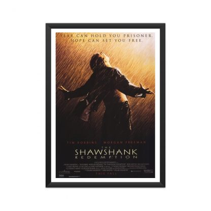 Framed The Shawshank redemption poster