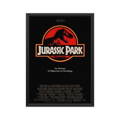 Framed original movie- Jurassic Park poster