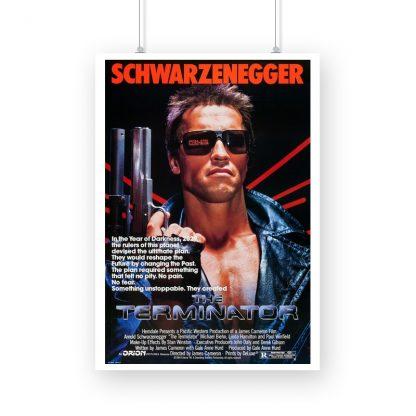 The Terminator original movie poster