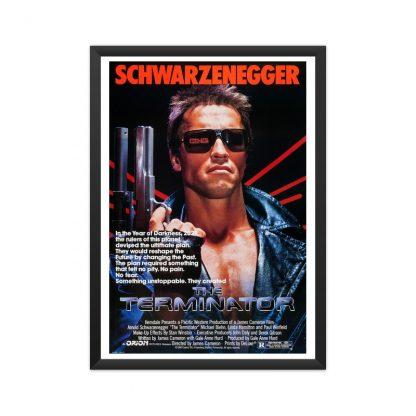 The terminator original movie framed poster