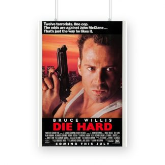 Die Hard poster movie