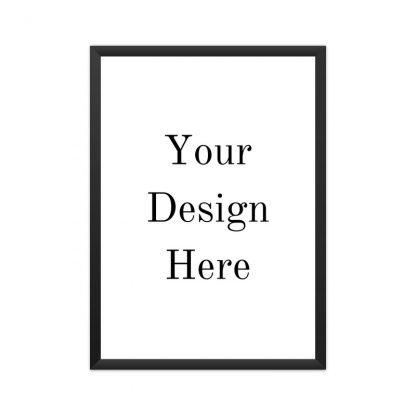 framed your design here poster