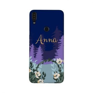 Custom purple Forest Mobile Cover