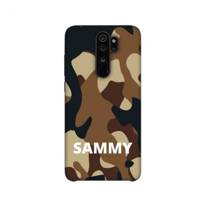 Brown camouflage print for mobile/phone cover/case