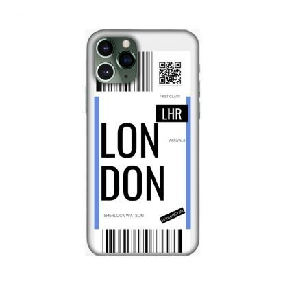 custom boarding pass mobile covers London