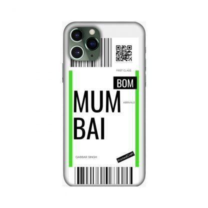 custom boarding pass mobile covers Mumbai