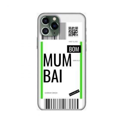 custom boarding pass mobile covers Mumbai
