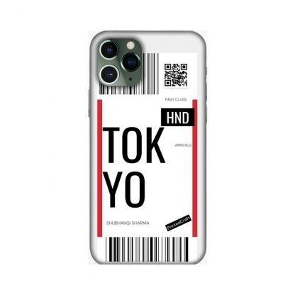 custom boarding pass mobile covers Tokyo