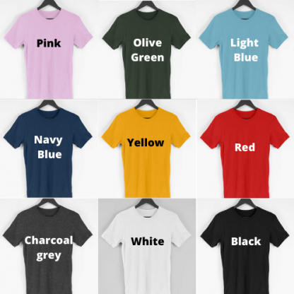 TShirts in Multiple colours