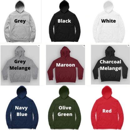 Hoodies in Multiple colours