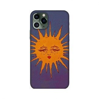 Sun Child Mobile Cover